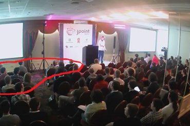 Поборчий иллюстрирует, каким зрителям не видна лазерная указка Куксенко